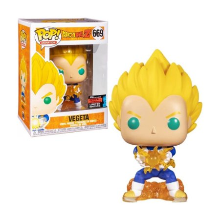 Boneco Vegeta 669 Dragon Ball Z (Limited Edition) - Funko Pop!