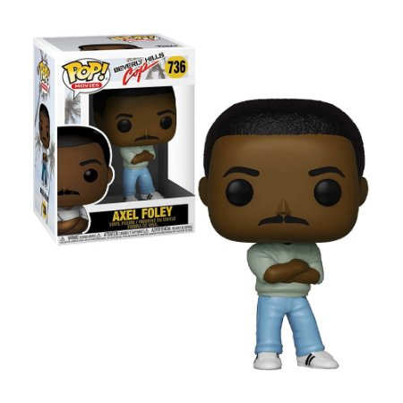 Boneco Axel Foley 736 Beverly Hills Cap - Funko Pop!
