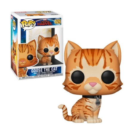 Boneco Goose the Cat 426 Captain Marvel - Funko Pop!
