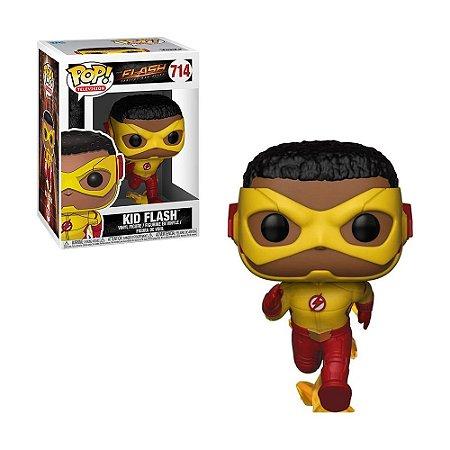 Boneco Kid Flash 714 The Flash - Funko Pop!