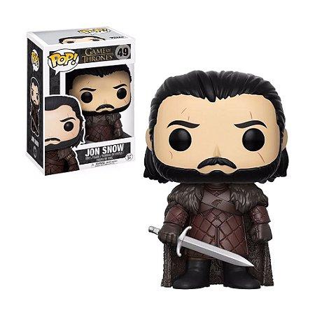 Boneco Jon Snow 49 Game of Thrones - Funko Pop!