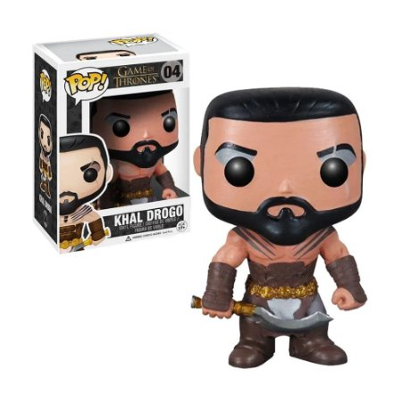 Boneco Khal Drogo 04 Game of Thrones - Funko Pop!
