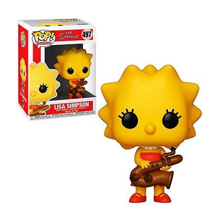 Boneco Lisa Simpson 497 The Simpsons - Funko Pop!
