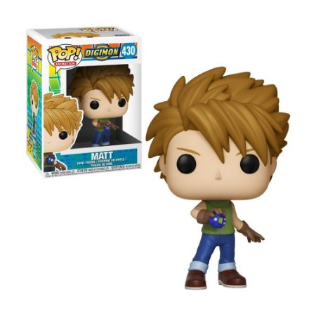 Boneco Matt 430 Digimon Digital Monsters - Funko Pop!