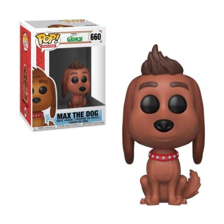 Boneco Max the Dog 660 The Grinch - Funko Pop!