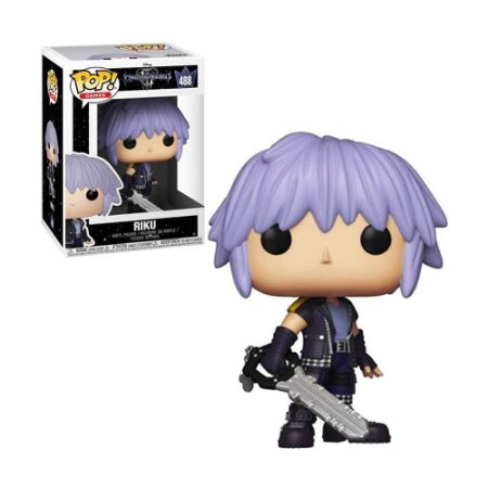 Boneco Riku 488 Kingdom Hearts III - Funko Pop
