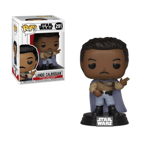 Boneco Lando Calrissian 291 Star Wars - Funko Pop!
