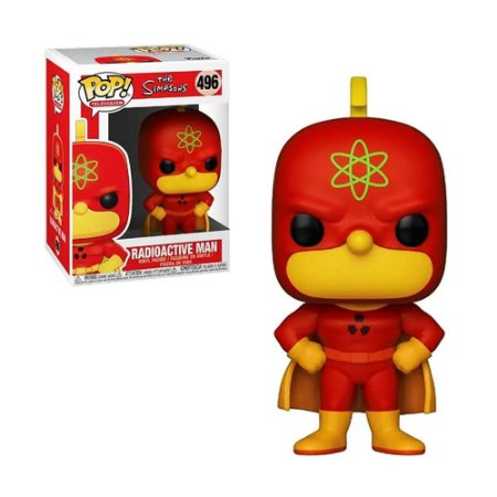 Boneco Radioactive Man 492 The Simpson - Funko Pop!