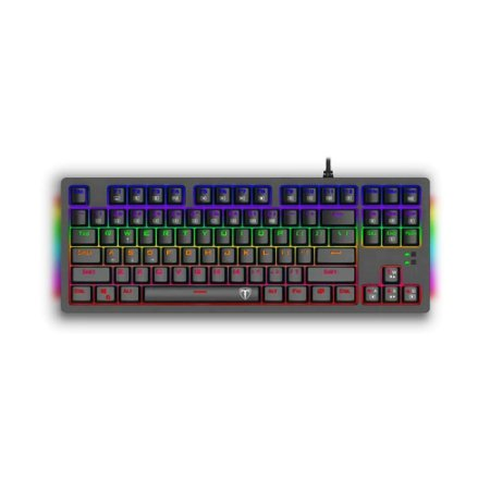 Teclado Mecânico Gamer T-Dagger Bali T-TGK311-BL Rainbow Switch Blue PT com fio