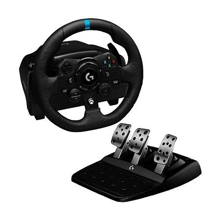 Volante Logitech G923 True Force - Xbox Series, Xbox One e PC