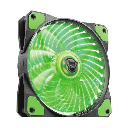 Fan Trust GXT 762G Verde 1300 RPM - PC