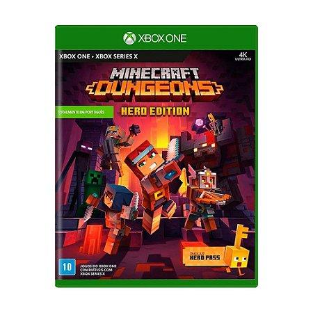 Jogo Minecraft Dungeons (Hero Edition) - Xbox One