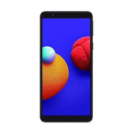 """Smartphone Samsung Galaxy A01 Core 32 GB 8MP Tela 5.3"""" Preto"""