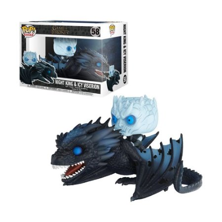 Boneco Night King & Icy Viserion 58 Game of Thrones - Funko Pop!