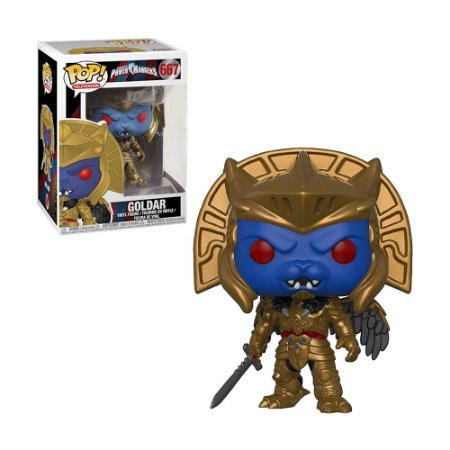 Boneco Goldar 667 Power Rangers - Funko Pop!