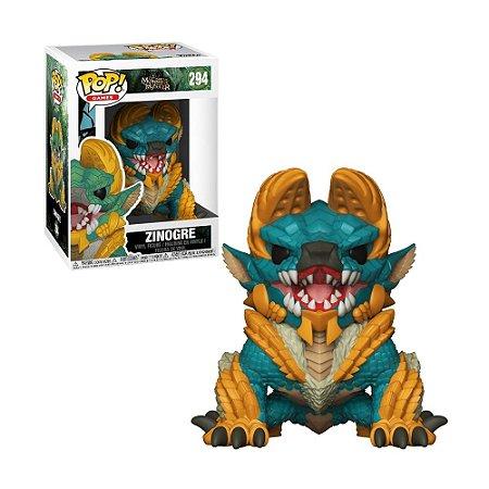 Boneco Zinogre 294 Monster Hunter - Funko Pop!