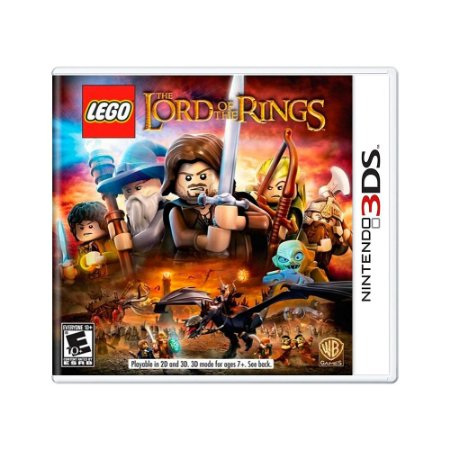 Jogo LEGO The Lord of the Rings - 3DS