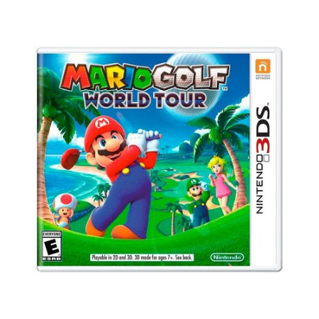 Jogo Mario Golf: World Tour - 3DS