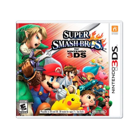 Jogo Super Smash Bros. - 3DS