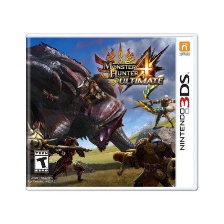 Jogo Monster Hunter 4 Ultimate - 3DS
