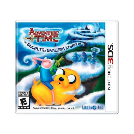 Jogo Adventure Time: The Secret of the Nameless Kingdom - 3DS