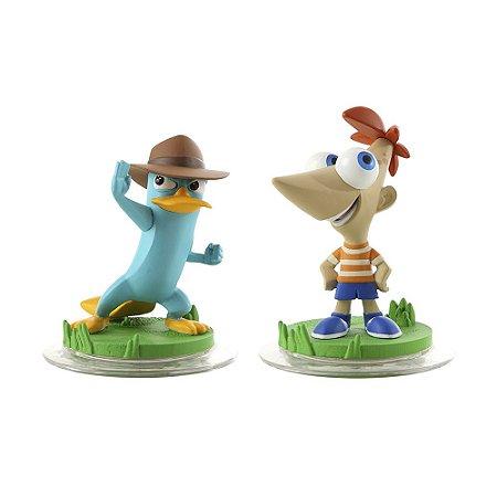 Boneco Disney Infinity: Phineas e Agente P - Xbox 360 e PS3