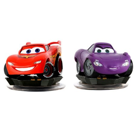 Boneco Disney Infinity: Lightning McQueen e Holley Shiftwell - Xbox 360 e PS3