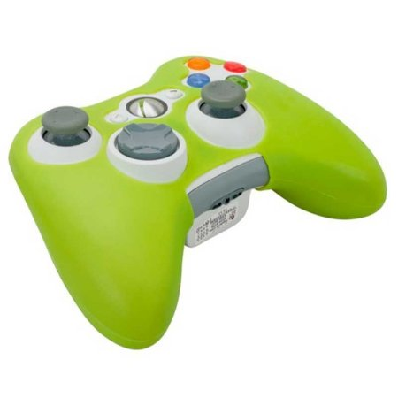 Capa de silicone verde para controle - Xbox 360