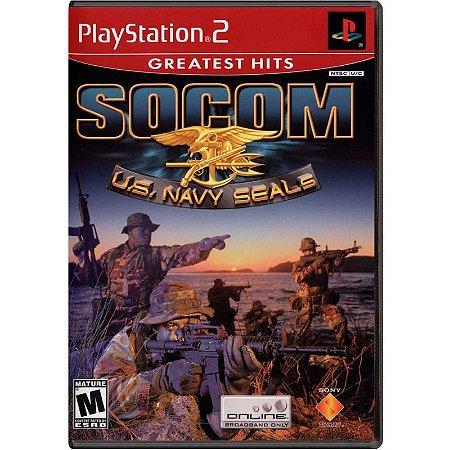 Jogo SOCOM: U.S Navy SEALs - PS2