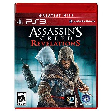 Jogo Assassin's Creed: Revelations - PS3