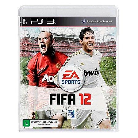 Jogo FIFA 12 - PS3