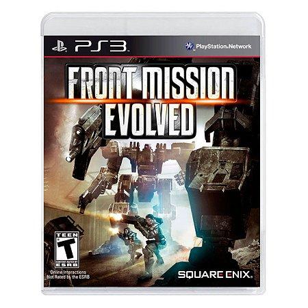 Jogo Front Mission Evolved - PS3