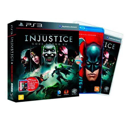 Jogo Injustice: Gods Among Us (Edição Limitada) - PS3