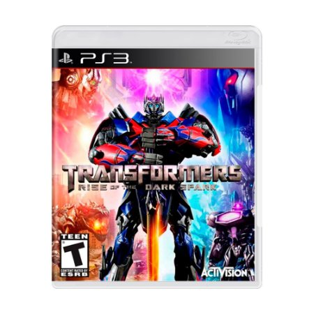 Jogo Transformers: Rise of the Dark Spark - PS3