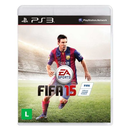 Jogo Fifa 2015 (FIFA 15) - PS3