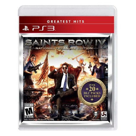 Jogo Saints Row IV (National Treasure Edition) - PS3