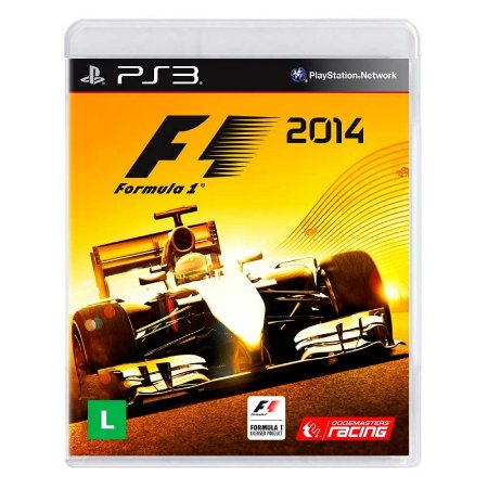 Jogo Formula 1 2014 - PS3