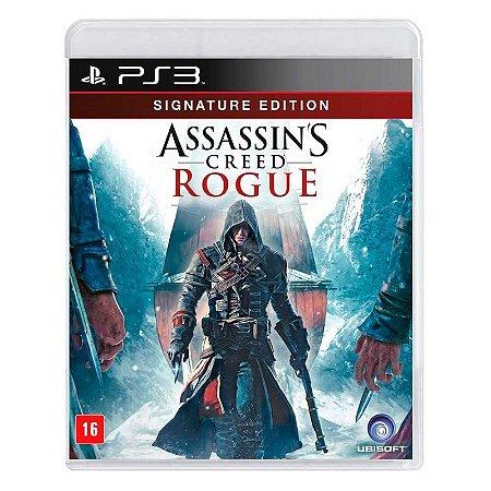 Jogo Assassin's Creed Rogue (Signature Edition) - PS3