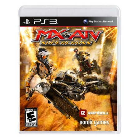 Jogo MX vs. ATV: SuperCross - PS3