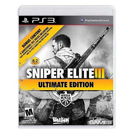 Jogo Sniper Elite III (Ultimate Edition) - PS3