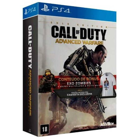 Jogo Call of Duty: Advanced Warfare (Gold Edition) - PS4
