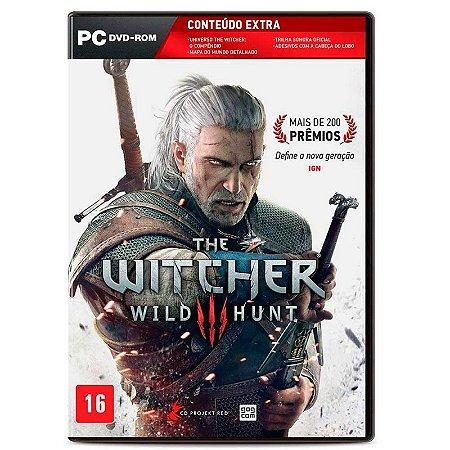 Jogo The Witcher 3: Wild Hunt - PC