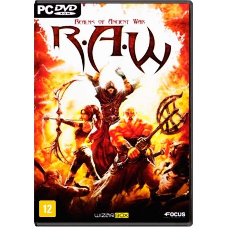 Jogo R.A.W: Realms of Ancient War - PC