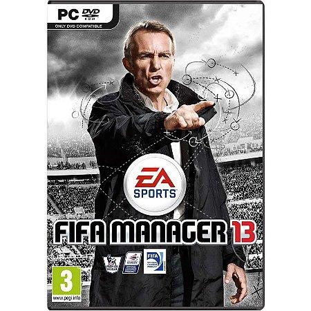 Jogo FIFA Manager 13 - PC
