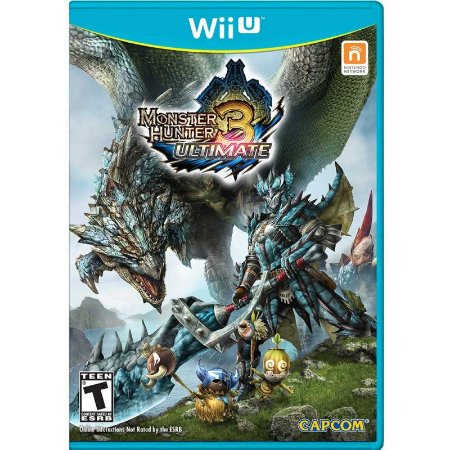 Jogo Monster Hunter 3 Ultimate - Wii U