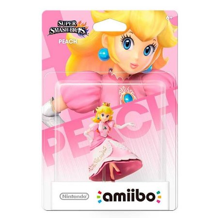 Nintendo Amiibo: Peach - Super Smash Bros - Wii U e New Nintendo 3DS