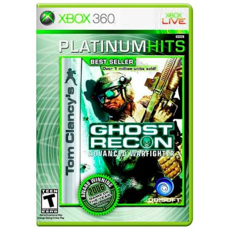 Jogo Tom Clancy's: Ghost Recon Advanced Warfighter - Xbox 360
