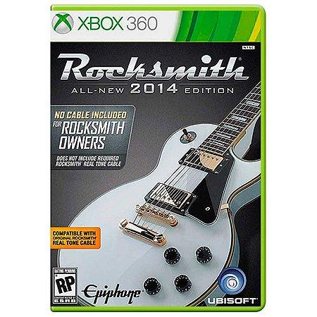 Jogo Rocksmith 2014 (Apenas Jogo) - Xbox 360