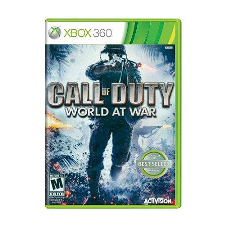 Jogo Call of Duty: World at War - Xbox 360