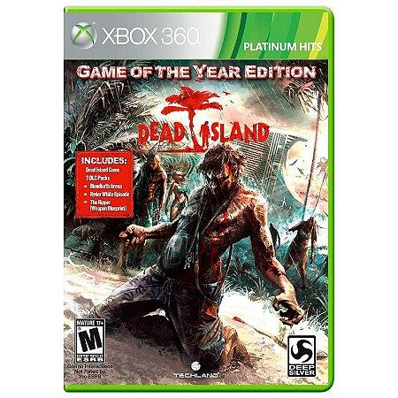Jogo Dead Island (GOTY) - Xbox 360